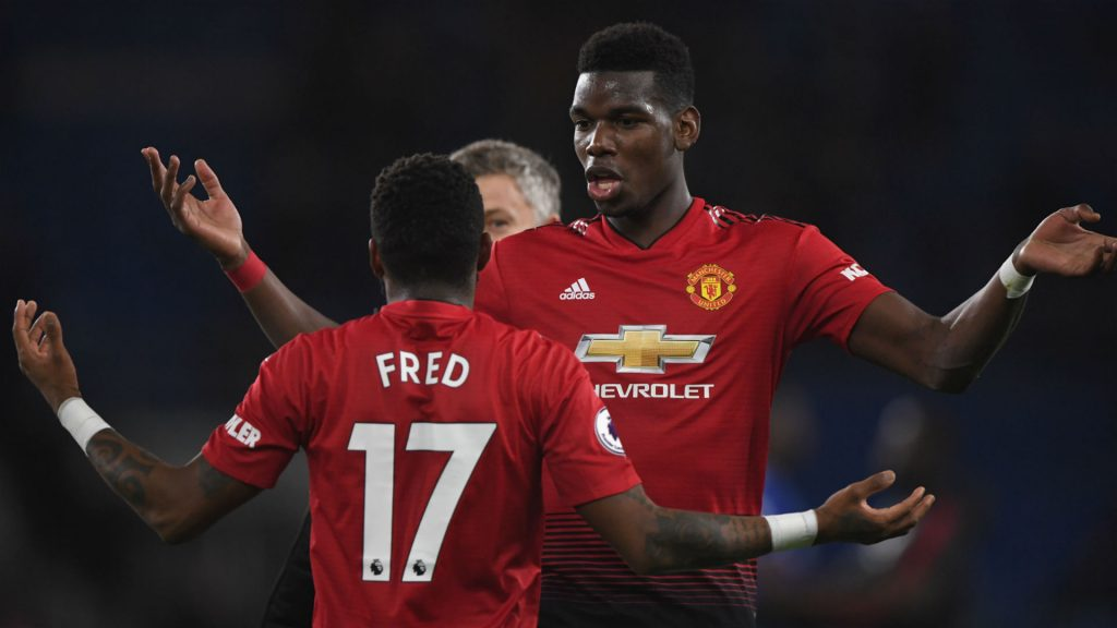 Fred has urged Paul Pogba to stay at Manchester United