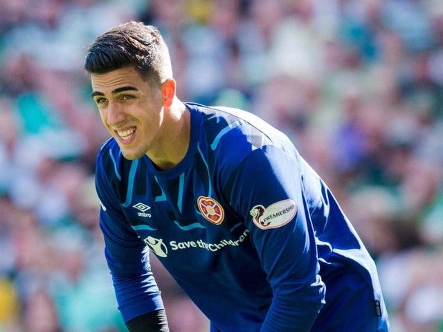 Joel Pereira endured a difficult season at Hearts