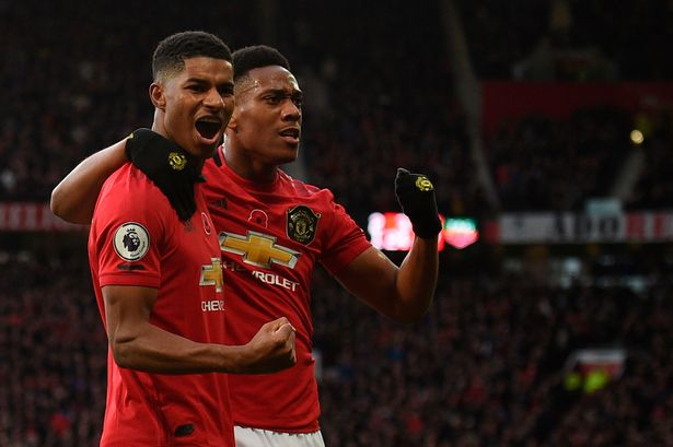 Dwight Yorke believes Marcus Rashford and Anthony Martial are as potent as him and Andy Cole