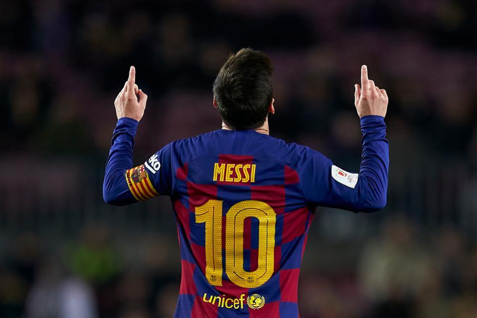 Fati is seen as Messi's successor