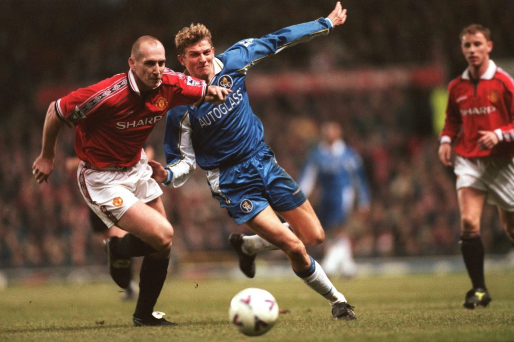 Manchester United made Jaap Stam the most expensive defender in history in 1998