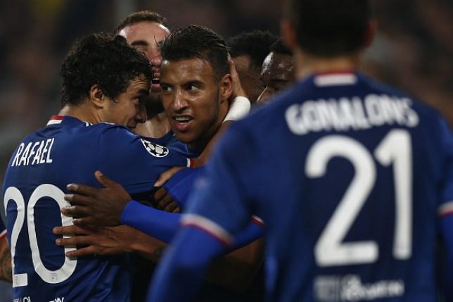 Rafael played with Corentin Tolisso at Lyon