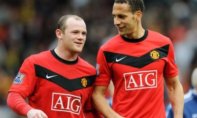 Rooney and Ferdinand too were confronted by fans