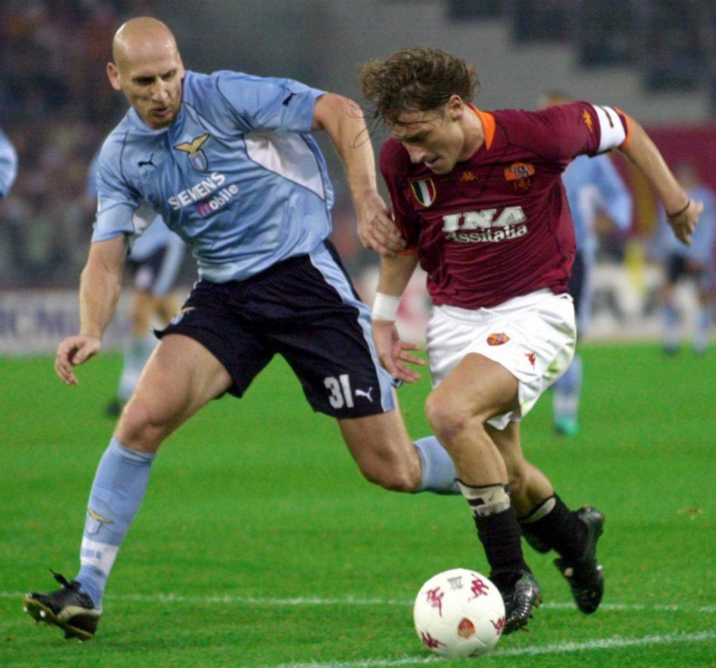 Stam was sold to Lazio in 2001