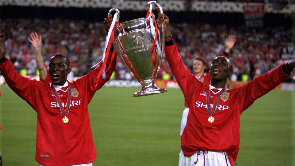 Yorke and Cole led United to the treble in 1999