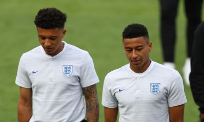 Jesse Lingard believes Jadon Dancho would be a brilliant signing for Manchester United