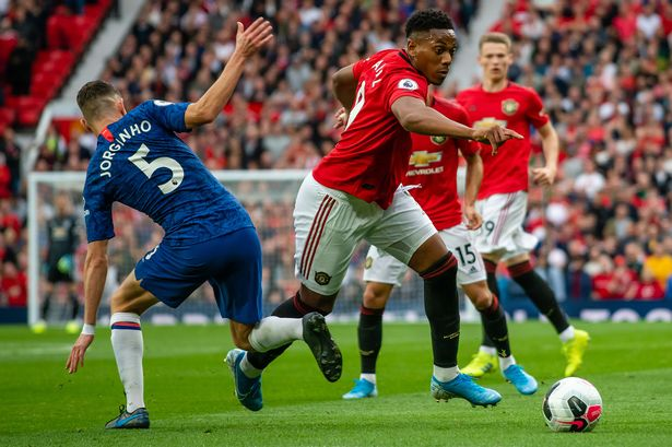 Manchester United star Anthony Martial is training away from the rest of the France squad after suffering a potential back injury in the win over Portugal.