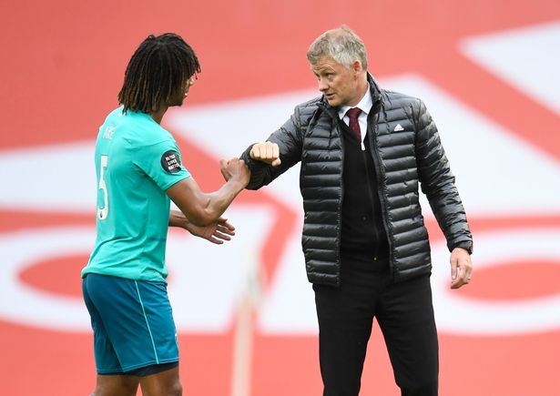 Solskjaer has laughed off suggestions that he was tapping up Nathan Ake