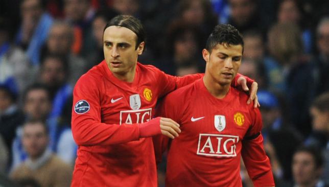 Berbatov has played alongside Ronaldo