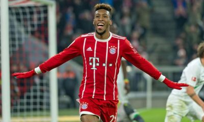 Kingsley Coman has been with Bayern Munich since 2015