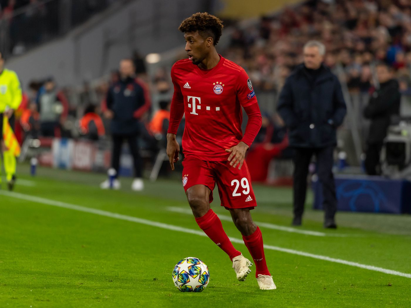 Liverpool could make a move for Manchester United target Kingsley Coman.