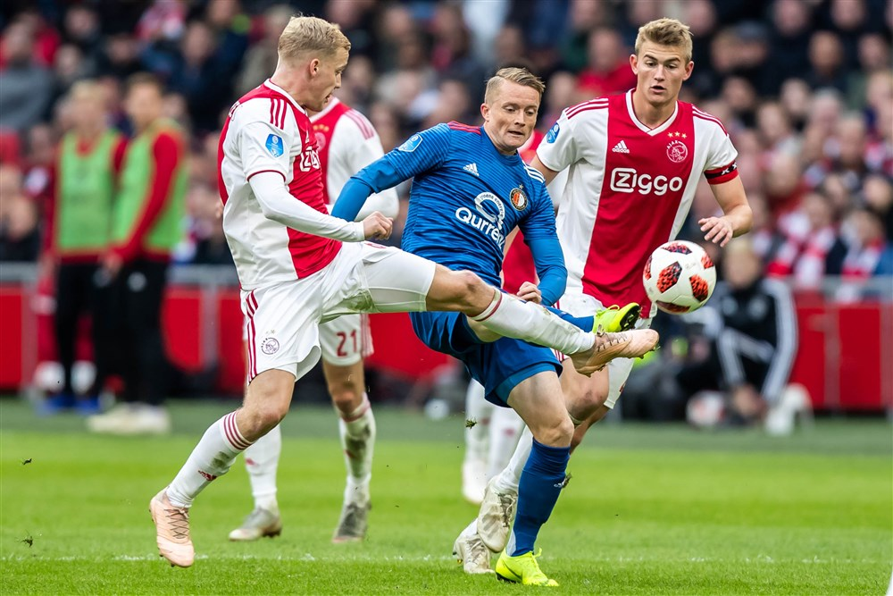 Manchester United are keen on Dutch duo Donny van de Beek and Matthijs de Ligt