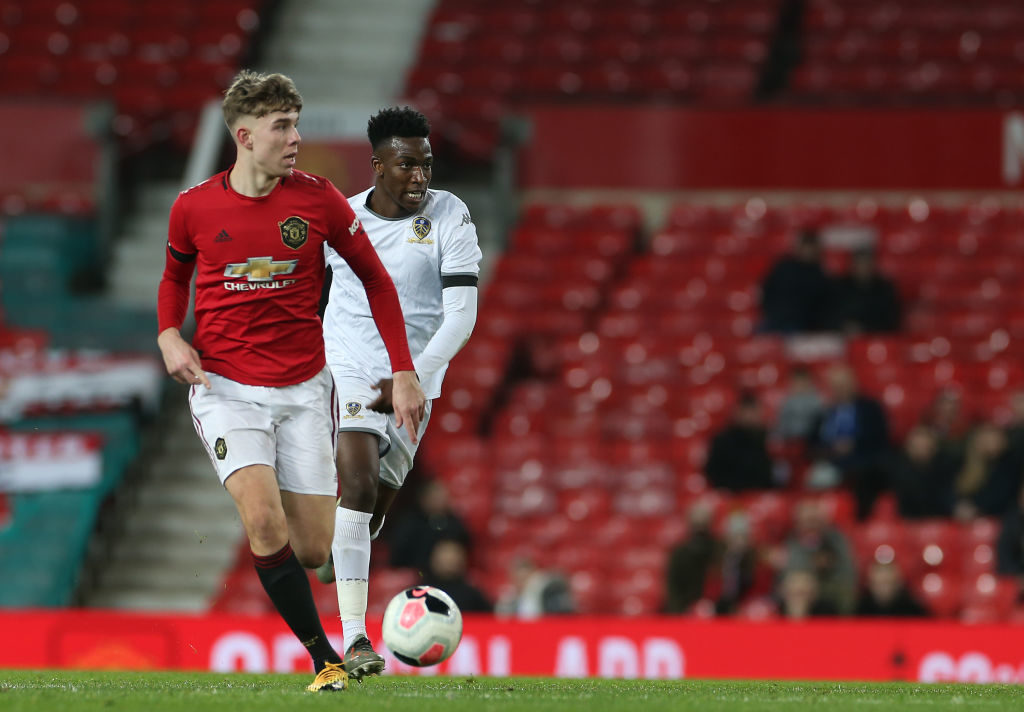 Manchester United academy starlet, Ben Hockenhull is on his way to join Championship side Brentford