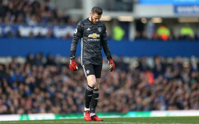 David de Gea is not the player he once was