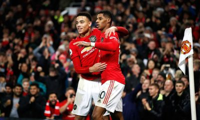 Greenwood and Rashford scored against Bournemouth