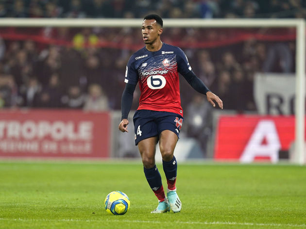Gabriel Magalhaes during his Lille days