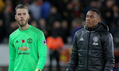 Solskjaer was full of praise for Martial and De Gea