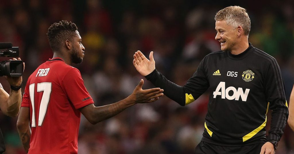 Tim Sherwood has accused Manchester United manager Ole Gunnar Solskjaer of making a poor decision in keeping Fred on