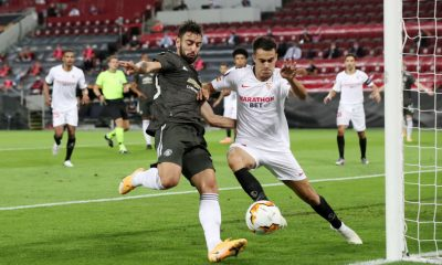 Sergio Reguilon won the Europa League with Sevilla (Getty Images)