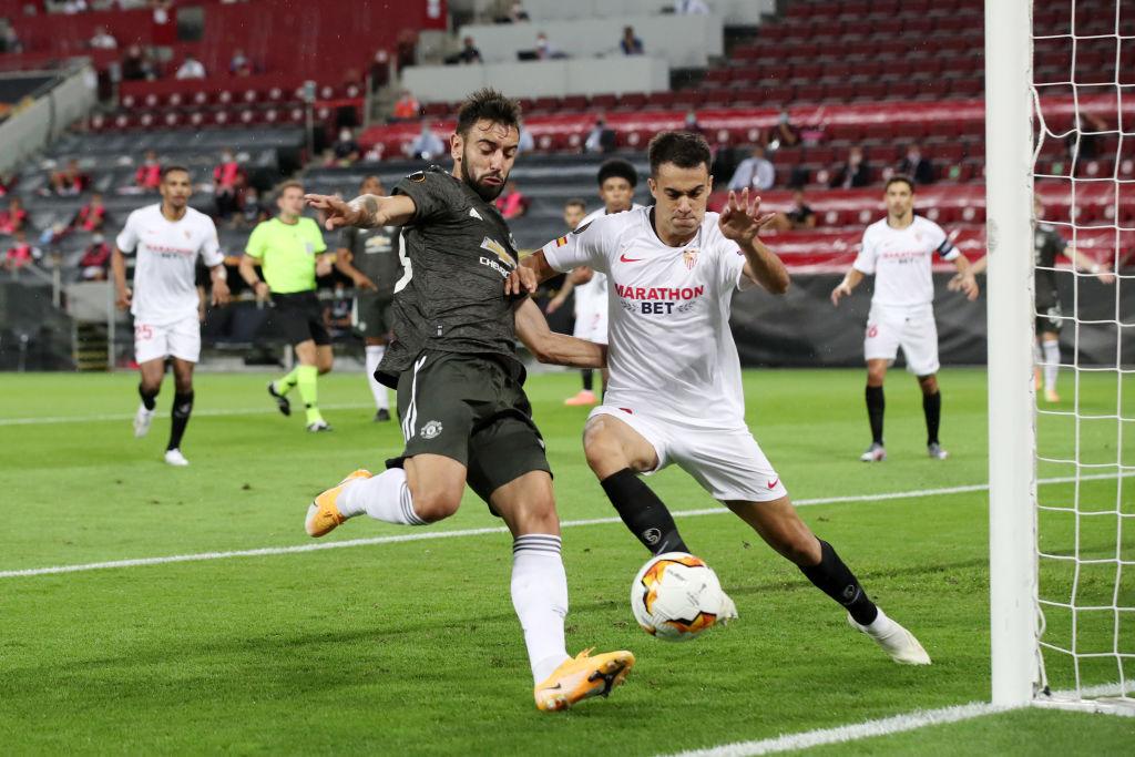 Sergio Reguilon won the Europa League with Sevilla (Getty Images)