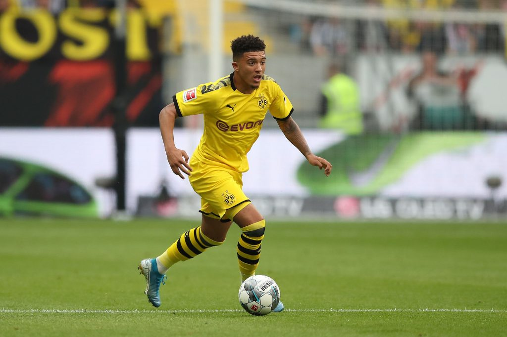 Borussia Dortmund will not negotiate with Manchester United for Jadon Sancho in January