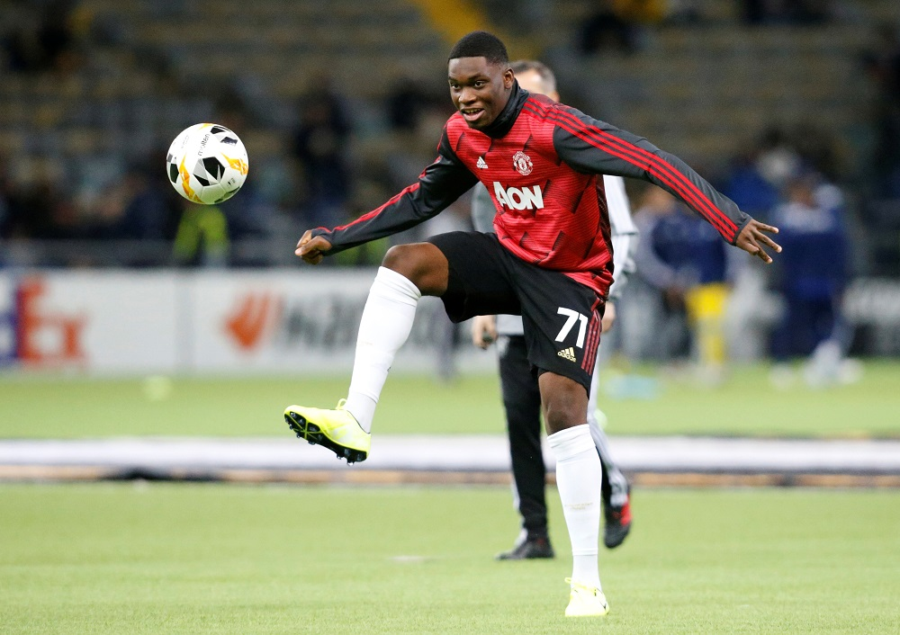 Ole Gunnar Solskjaer praised Teden Mengi after the youngster made his first-team debut against LASK at Old Trafford