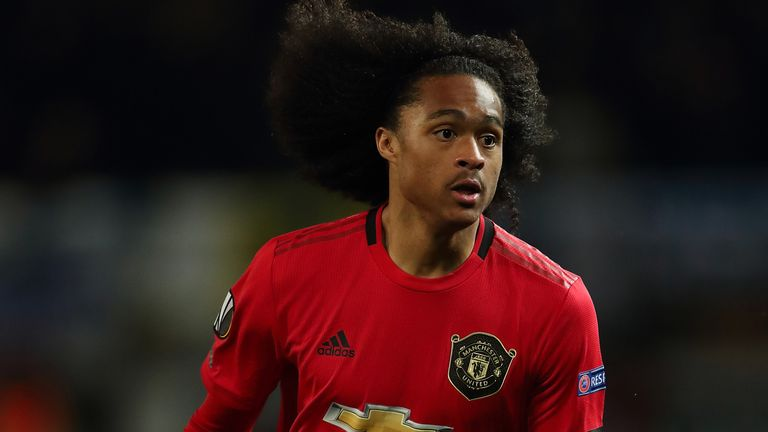 Manchester United loanee Tahith Chong impresses for Club Brugge on full league debut