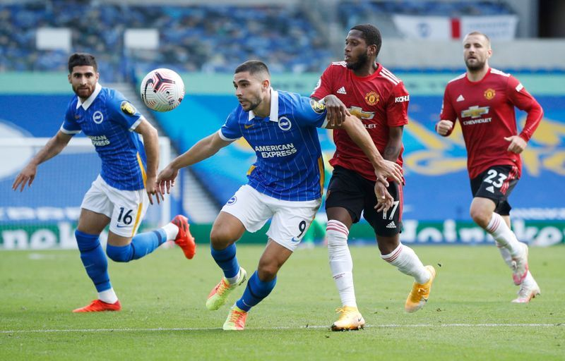 Fred kept Brighton players away from Fernandes