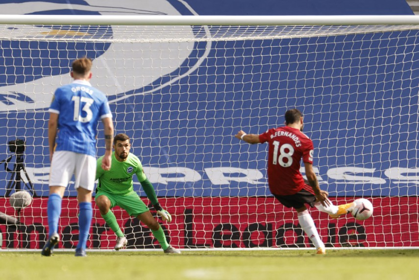 Manchester United's lone win came at Brighton