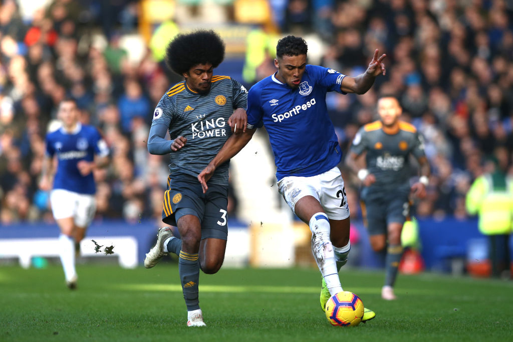 Manchester United have been put off by the asking price for Dominic Calvert-Lewin
