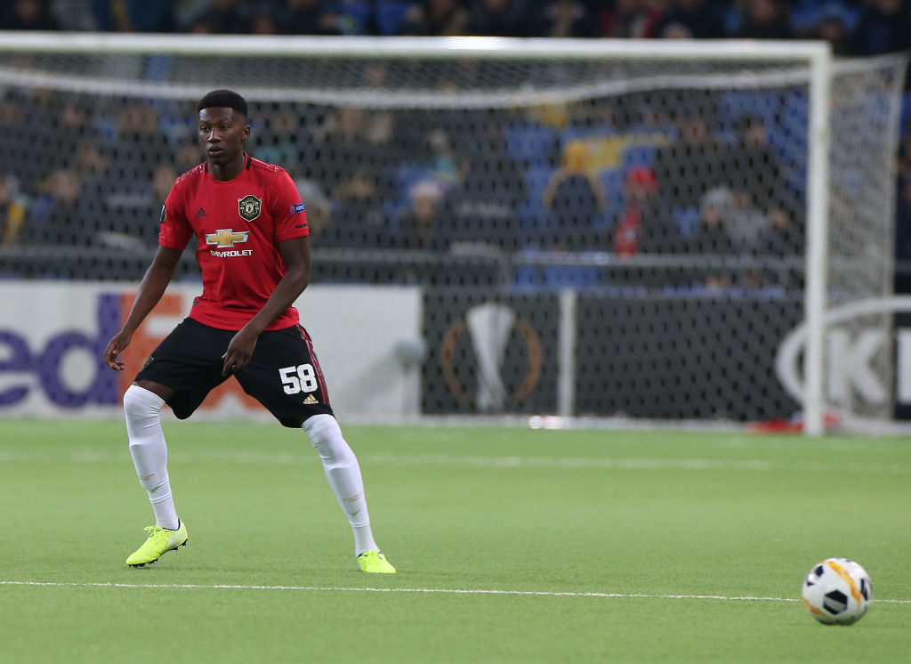 Di'Shon Bernard has been impressive for the United Under-23 side