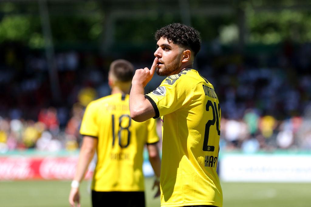 Reda Khadra left Borussia Dortmund when his contract expired (Getty Images)