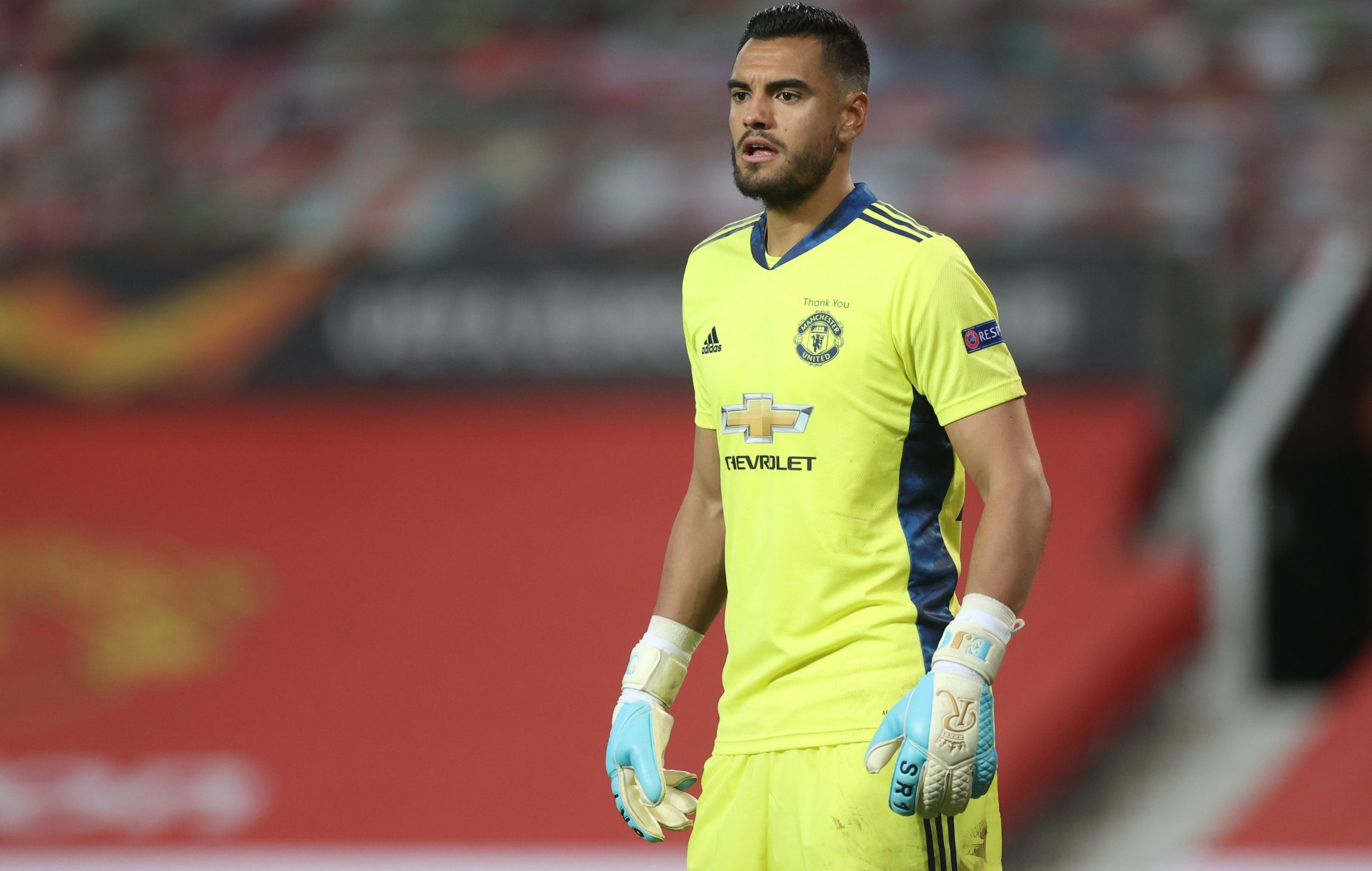 Everton are interested in loaning Manchester Untied goalkeeper Sergio Romero