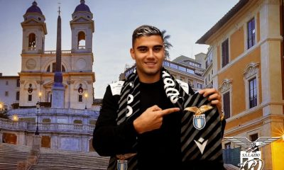Andreas Pereira joined Lazio on loan