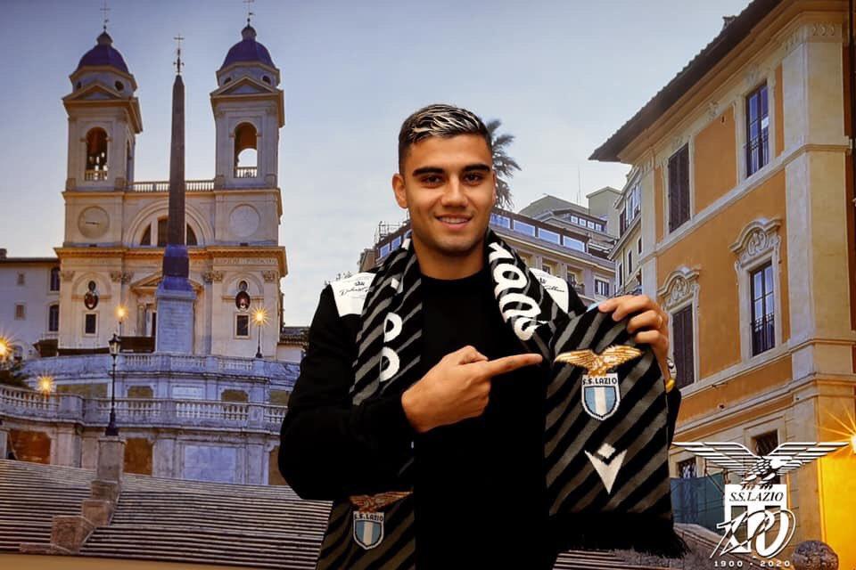 Andreas Pereira joined Lazio on loan