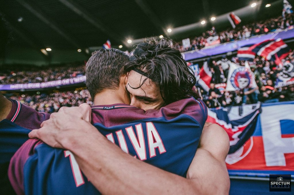 Manchester United star Edinson Cavani could face off against Thiago Silva