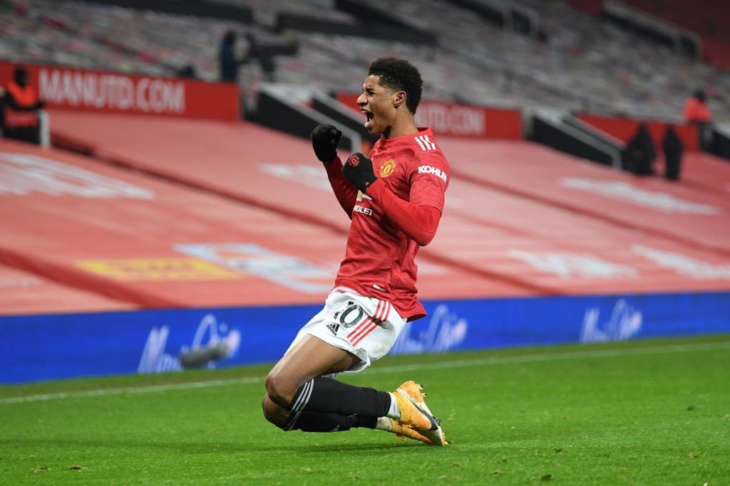 Marcus Rashford took advantage of Rayan Aït-Nouri's tiredness to win the game for Manchester United.