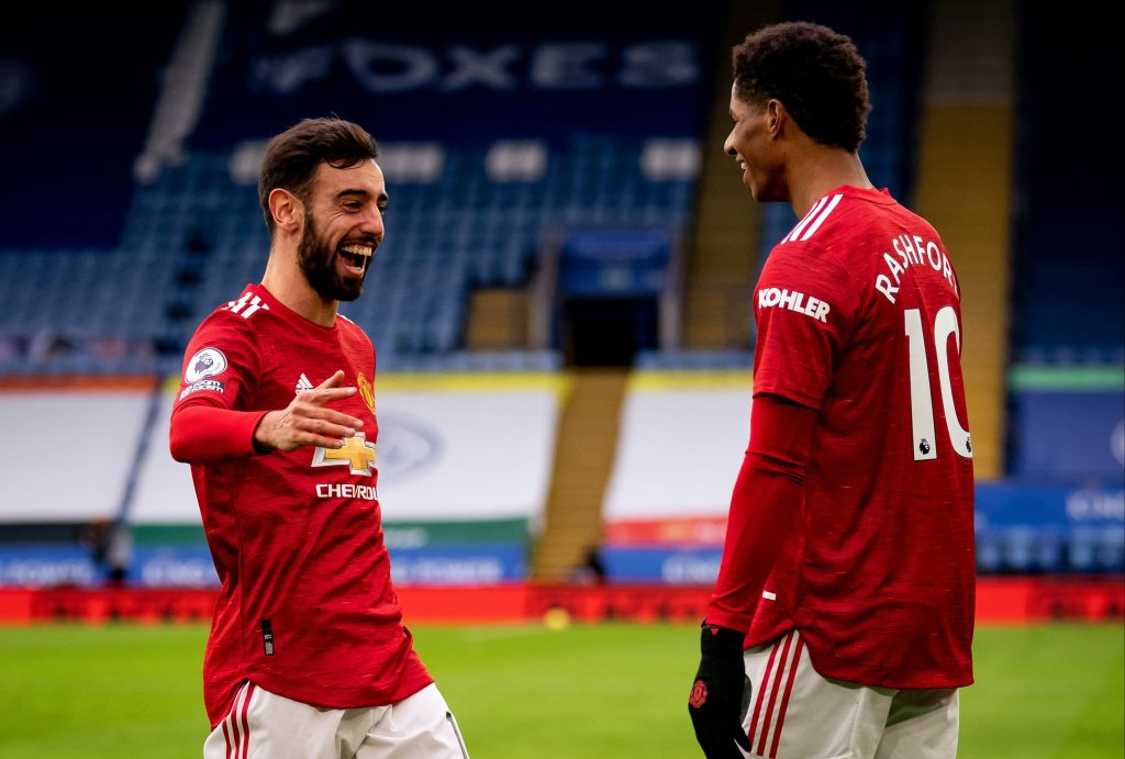 Bruno Fernandes has revealed the unhappiness that was prevalent in the Manchester United dressing room following the draw against Leicester City.