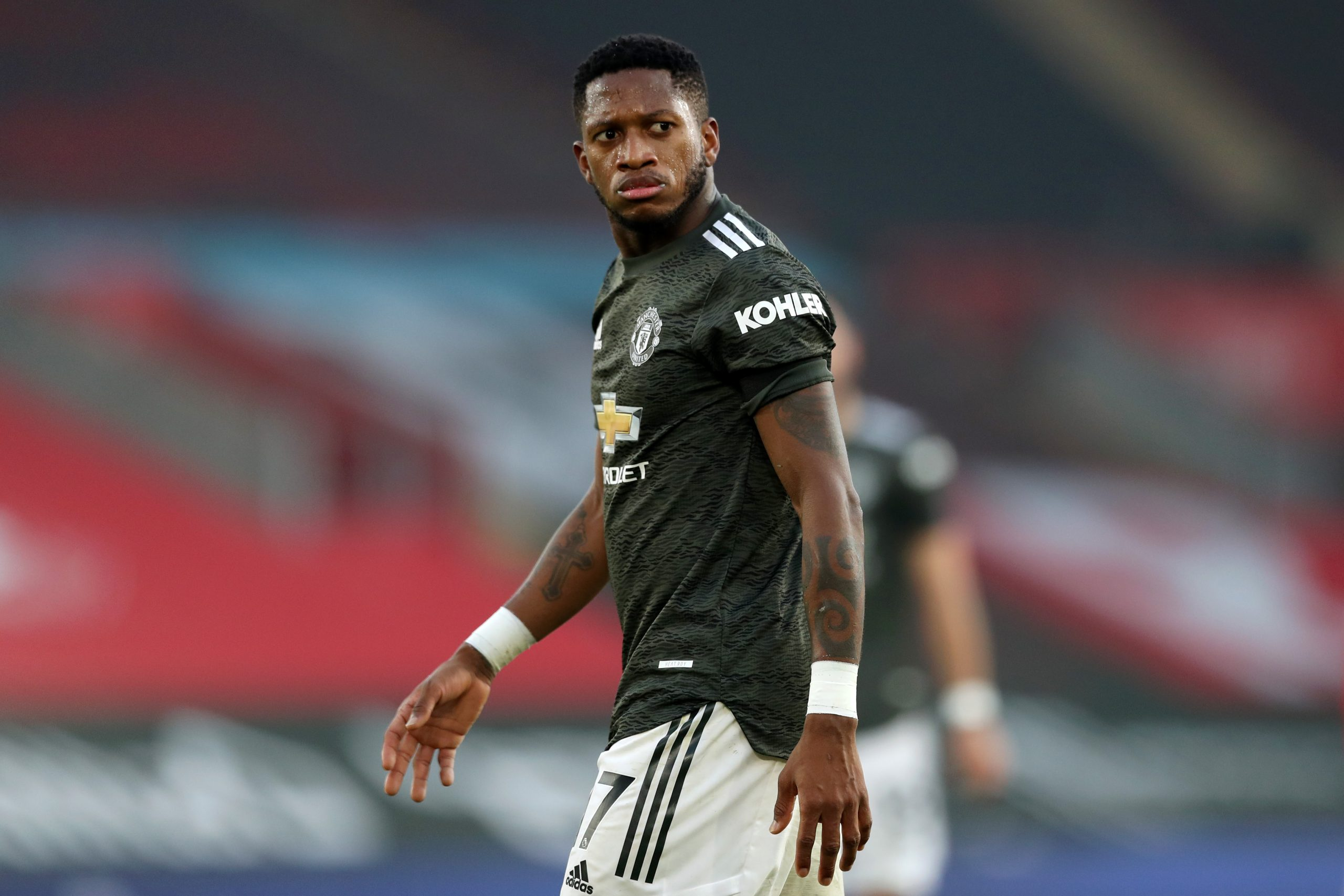 Fred in action for Manchester United. (GETTY Images)