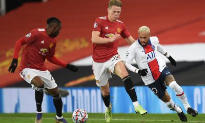 Scott McTominay has expressed his anger towards the theatrics of the PSG players and the quality of refereeing in their 1-3 loss at Old Trafford. (GETTY Images)