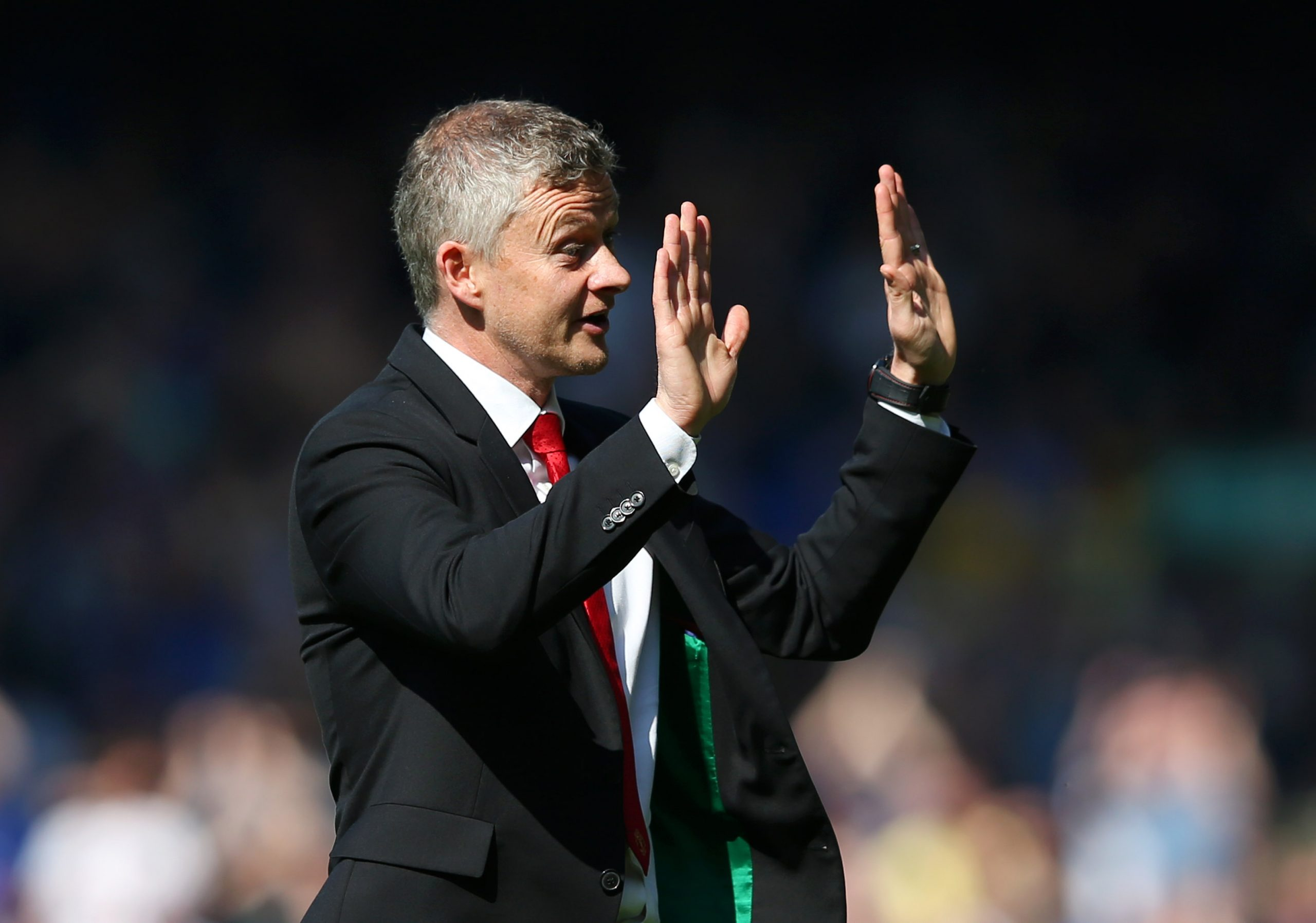 Ole Gunnar Solskjaer says Manchester United may be active in the January transfer window if a long-term target becomes available. (GETTY Images)