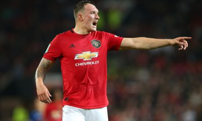 Burnley are interested in signing Phil Jones from Manchester United. (GETTY Images)