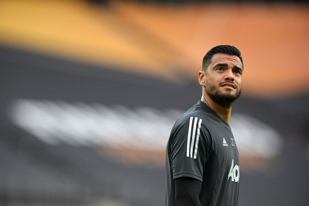 Inter Miami are reportedly interested in signing Manchester United wantaway goalkeeper Sergio Romero. (GETTY Images)