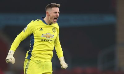 Roy Keane believes lack of playing time for Manchester United goalkeeper Dean Henderson would be detrimental to his career. (GETTY Images)