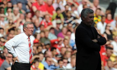 Sir Alex Ferguson approached Carlo Ancelotti in 2013 to take over as the manager of Manchester United. (GETTY Images)