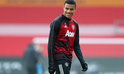 Ole Gunnar Solskjaer explained that the decision to substitute Manchester United talisman Mason Greenwood in the FA Cup game against West Ham was to manage his gametime. (GETTY Images)