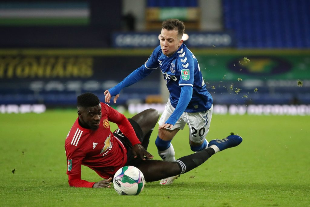 Axel Tuanzebe to continue if Lindelof and Bailly arent fit (GETTY Images)