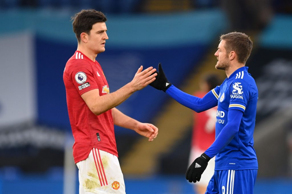 Manchester United fans were left seething after Leicester City scored late to take a point at the King Power stadium. (GETTY Images)