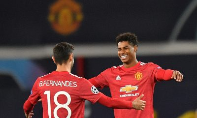 Thomas Tuchel has praised Manchester United striker Marcus Rashford and midfielder Bruno Fernandes ahead of their Champions League clash on Wednesday. (GETTY Images)
