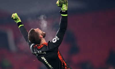 David de Gea wants Manchester United fans to remain calm as Premier League title dreams gain pace. (GETTY Images)